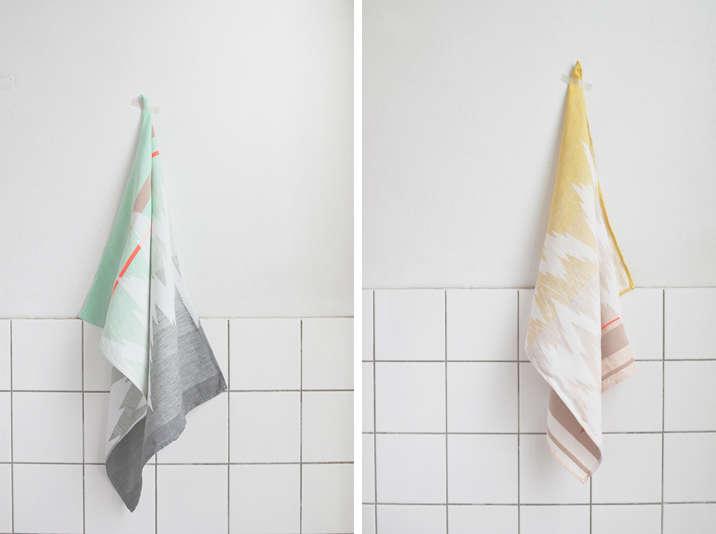 ISH tea towel Mae Engelgeer Remodelista