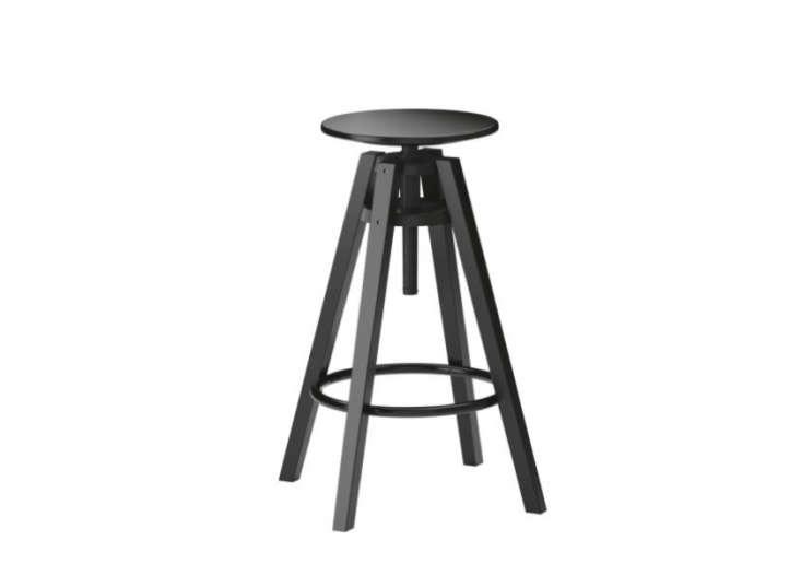 Ikea Dalfred Stool in Black