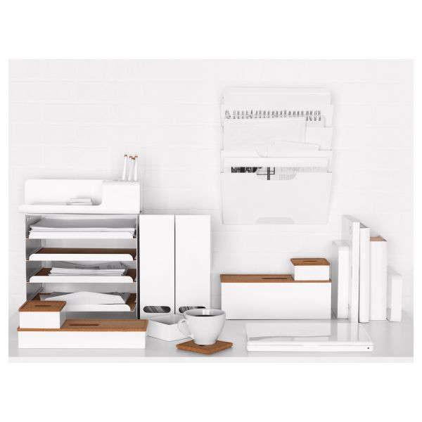 Clear the Decks 11 Ideas for Controlling Desktop Paper Shredder Included portrait 5