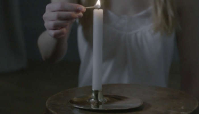 HighLow Modern Metallic Candleholder portrait 4