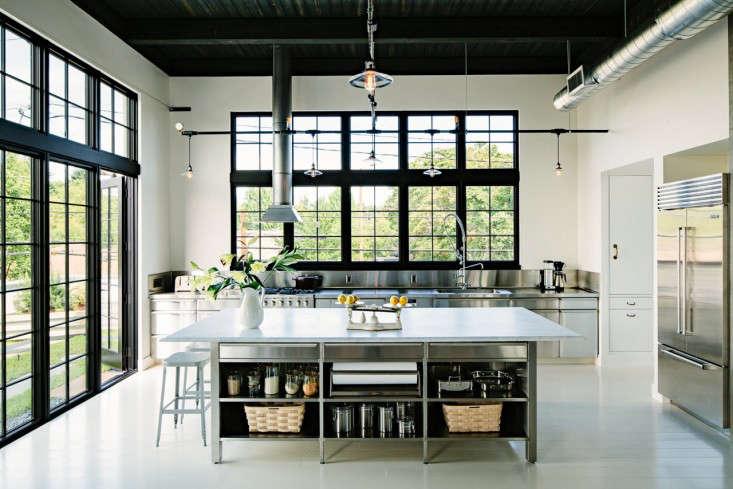 Industrial Portland loft kitchen Remodelista