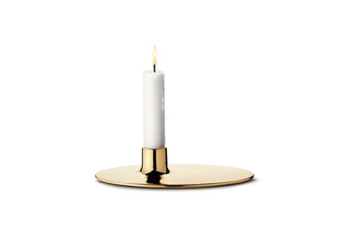 HighLow Modern Metallic Candleholder portrait 3