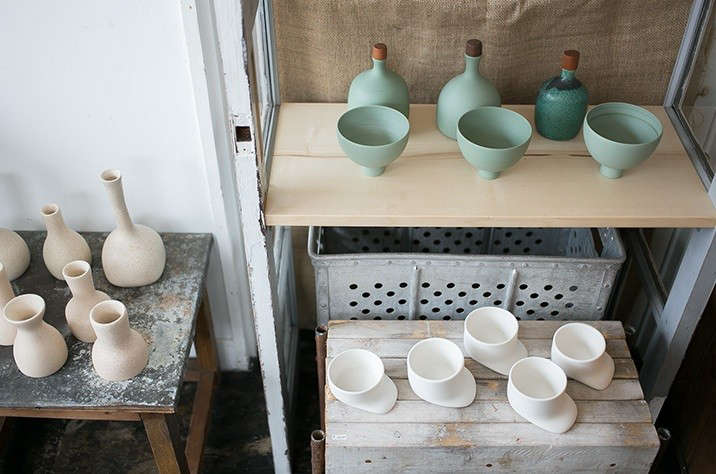 Japanese matcha party ceramics