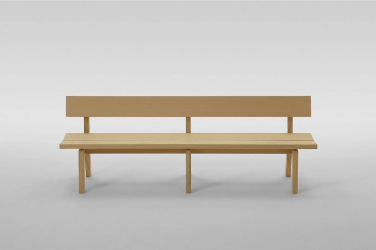10 Easy Pieces Modern Wooden Benches with Backs portrait 10