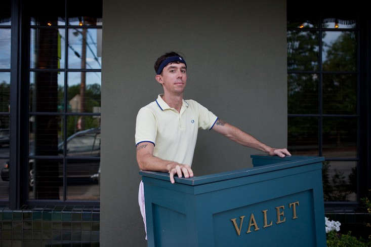 Country Club Style Dining in Austin Wes Anderson Edition portrait 4