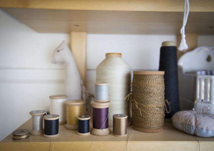Studio Visit with a California Sewing Artisan portrait 7