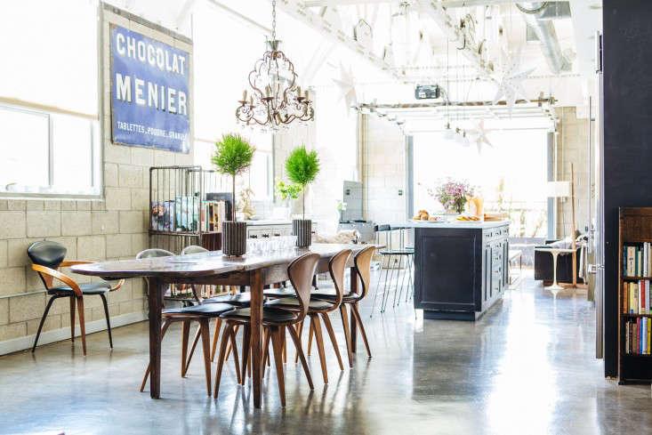 cherner chairs in joan mcnamara's la loft | remodelista 15