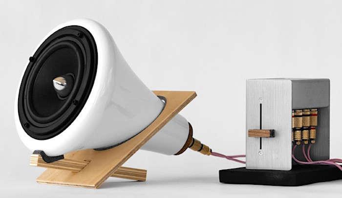 Joey Roth Ceramic Speakers Remodelista