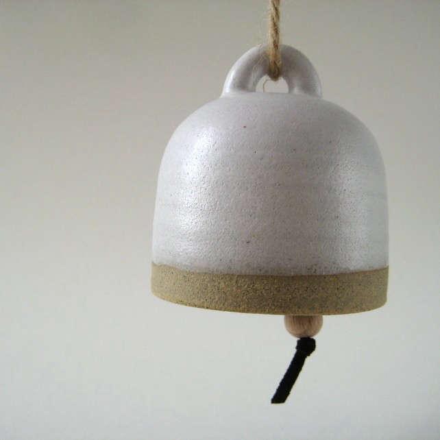 5 Favorites Bohemian Modern Ceramic Bells portrait 3