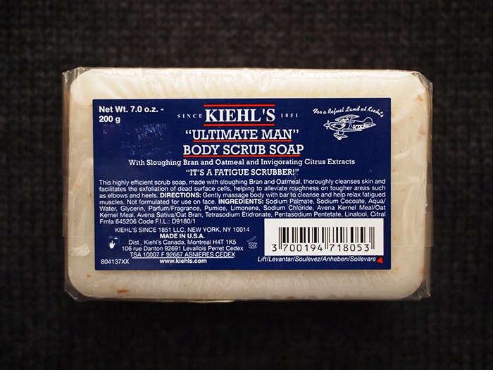 Kiehls Ultimate Man Body Scrub Soap