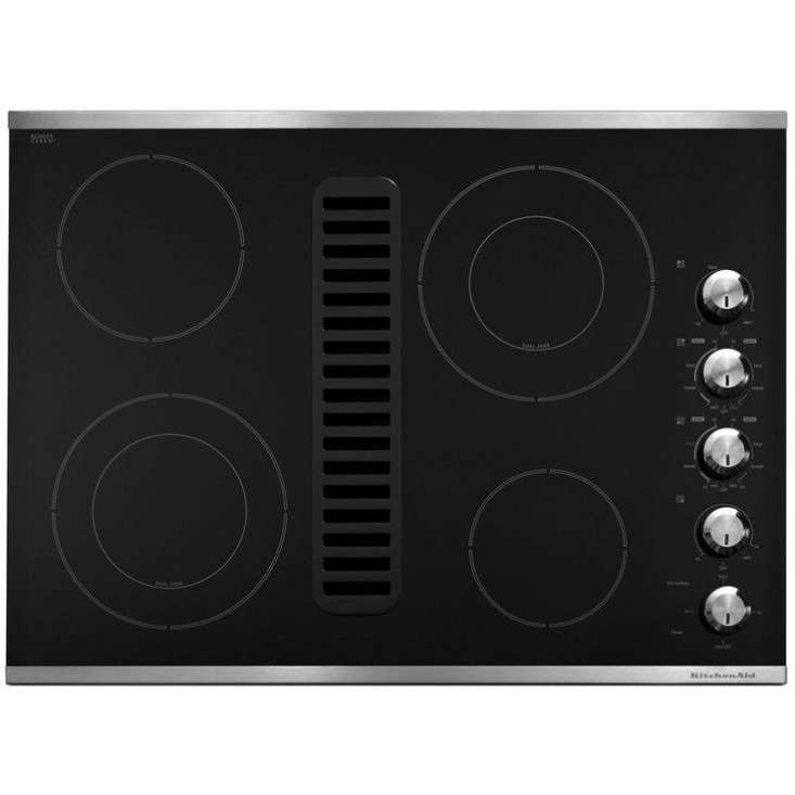 Remodeling 101 Nearly Invisible Downdraft Kitchen Vents portrait 7