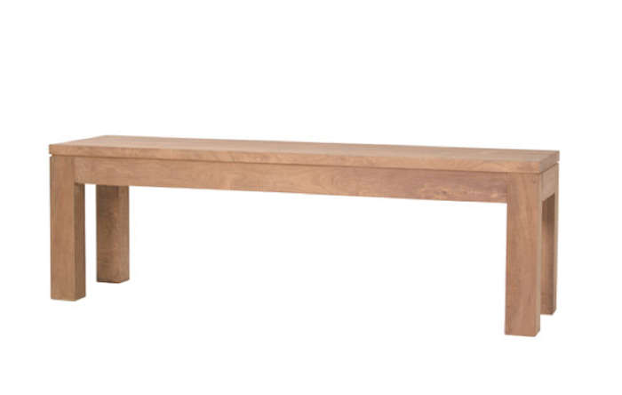 10 Easy Pieces Backless Wooden Dining Benches portrait 6