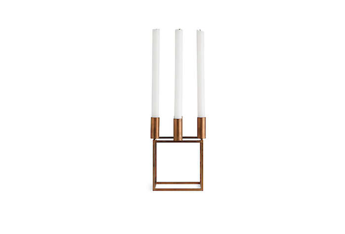 Kubus Goes Glam Our Favorite Candleholder Now in Copper portrait 3