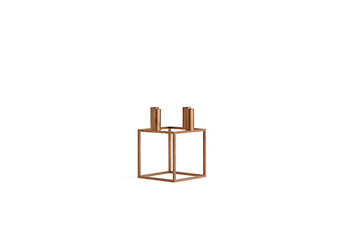Kubus Goes Glam Our Favorite Candleholder Now in Copper portrait 5