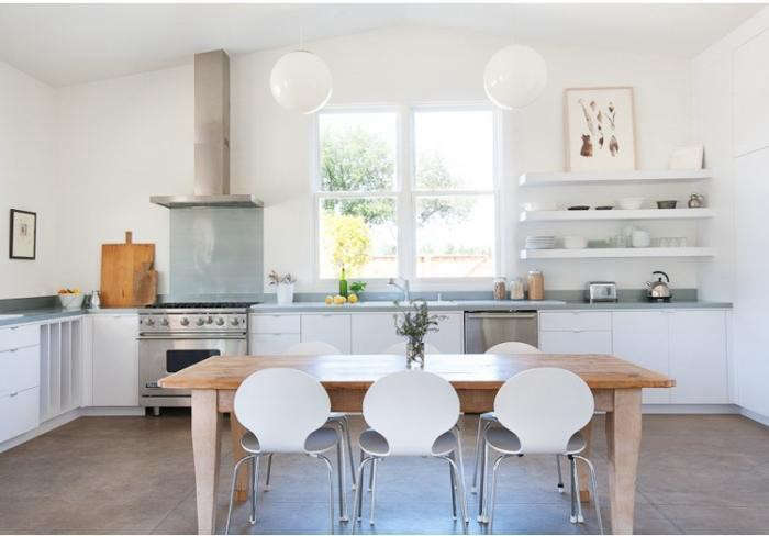 L Shaped Eat In Kitchen Remodelista