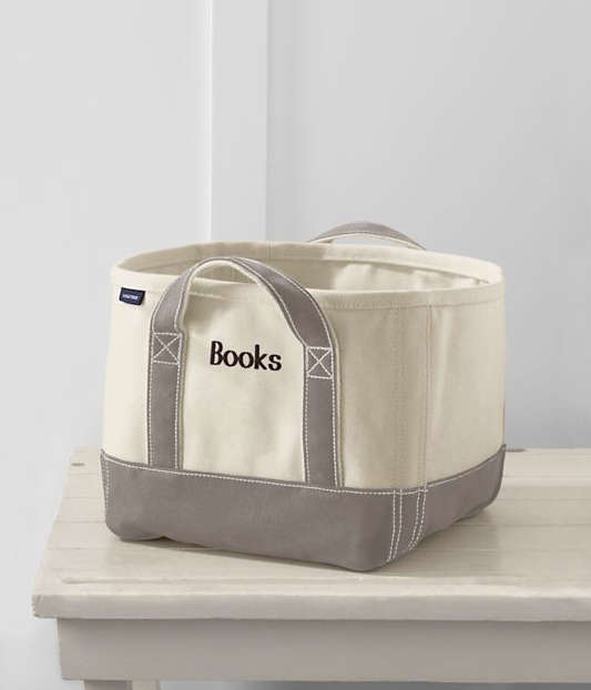 Trend Alert 7 Canvas Bins for Books and More portrait 9