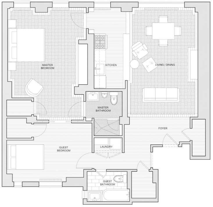 Weekend Spotlight Combining Two New York Studio Apartments portrait 12