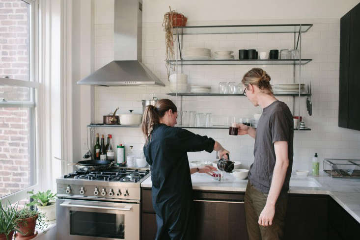 Kitchen of the Week A Young Couples Brooklyn Kitchen Reinvented  portrait 9