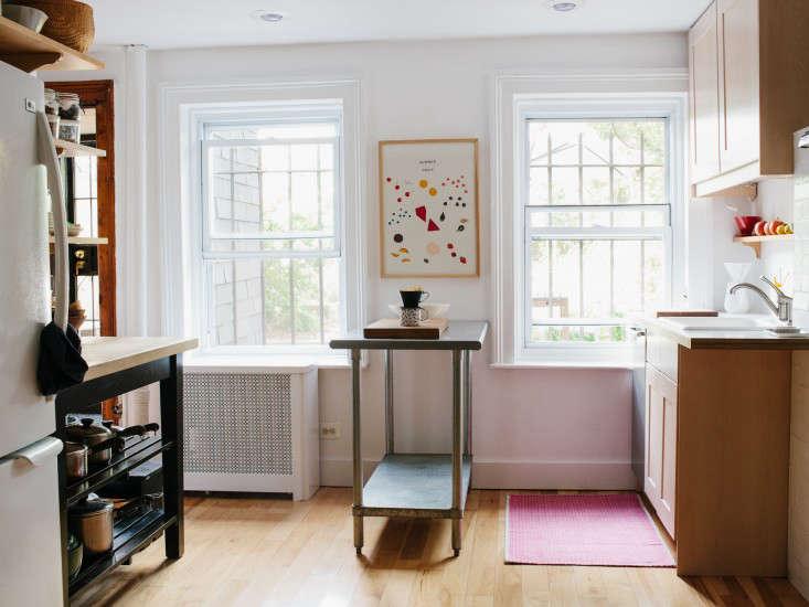 Designer Lena Corwin at Home in Fort Greene portrait 9