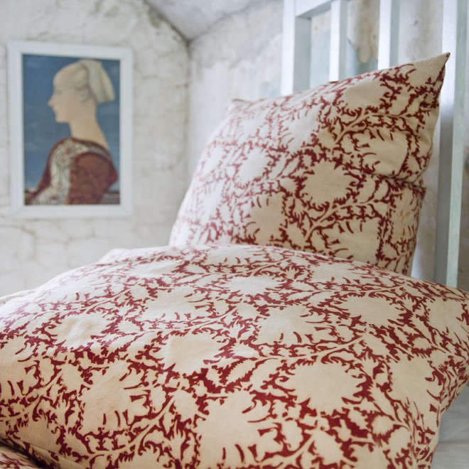 Traditional Kalamkari from Les Indiennes portrait 8