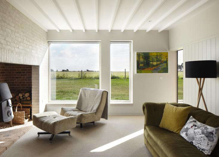 Long Farm by Lucy Marston living room