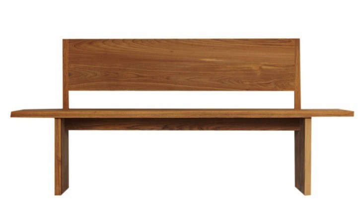 10 Easy Pieces Modern Wooden Benches with Backs portrait 9
