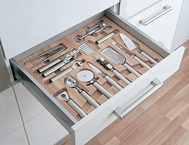 A drawer insert from Lubina in the UK.