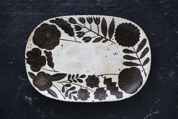 Makoto Kagoshima ceramic from Chariots of Fire Los Angeles Remodeista 1
