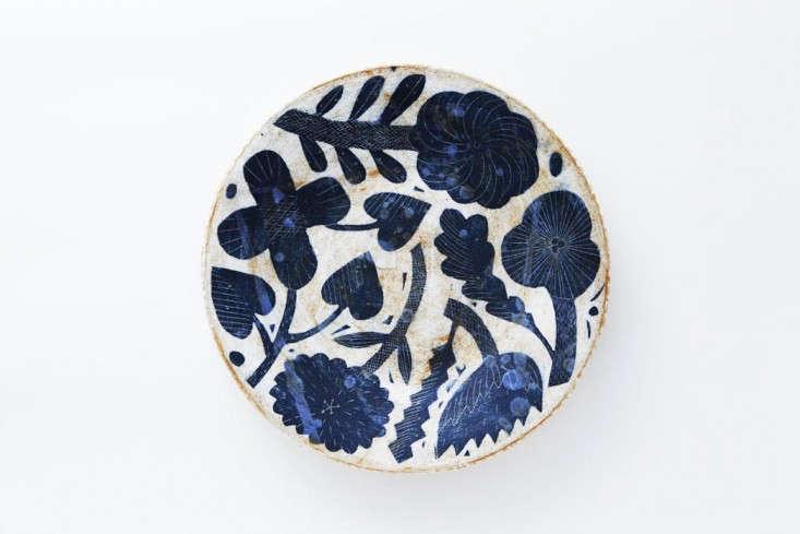 Makoto Kagoshima ceramic from Chariots of Fire Los Angeles Remodeista 3