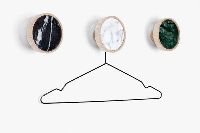 Marble Coat Hooks by Way of Switzerland portrait 5