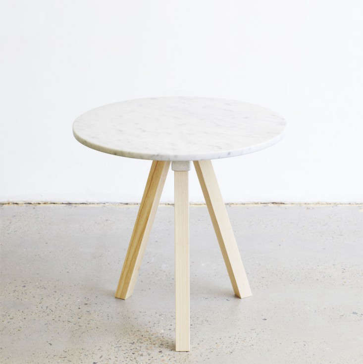 Marble table 01 small massive