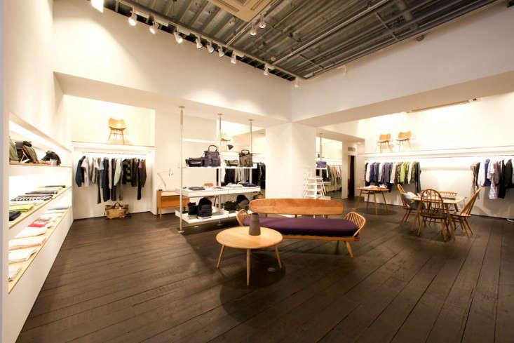 Margaret Howell Tokyo store interior