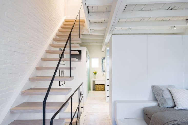 Brussels-based designer Nathalie Goris collaborated with Matiz Architecture & Design on a West Village townhouse renovation in A New York Remodel by Way of Belgium. Photograph by Hidenao Abe.
