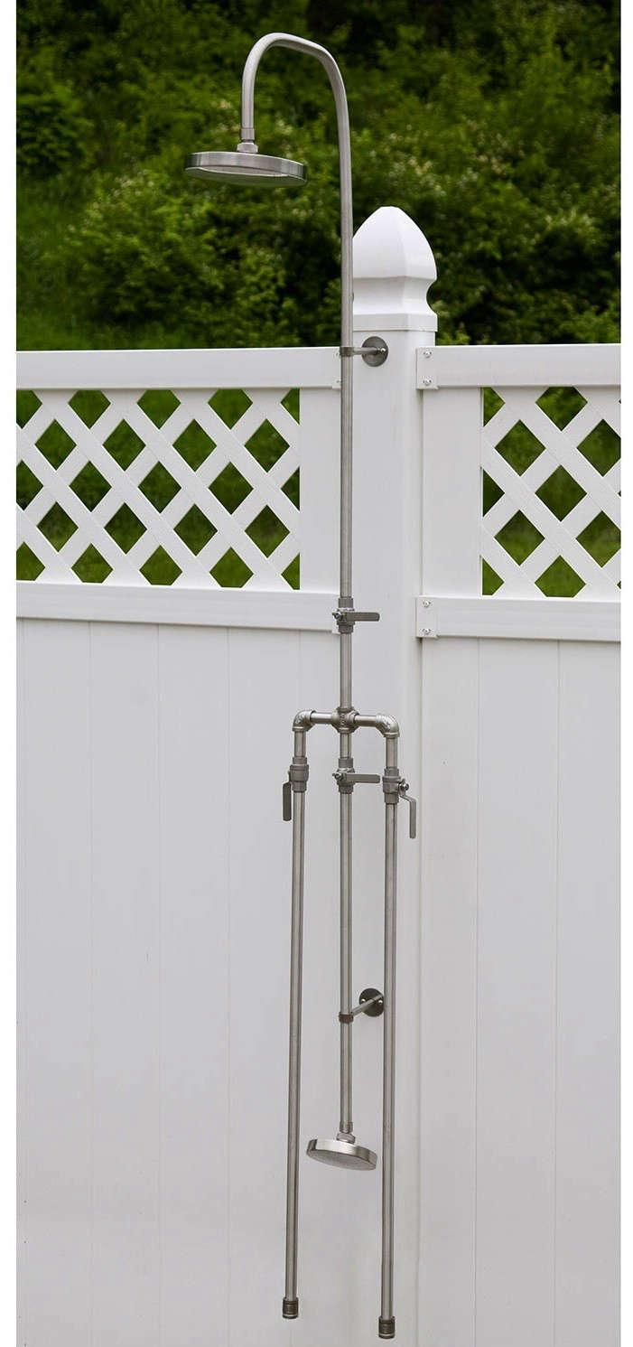 Maycreek outdoor shower tall