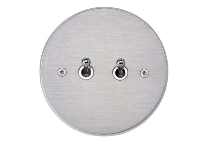 Meljac two toggle round switch