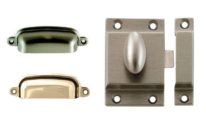 Merit Metals Bin Pulls Latch