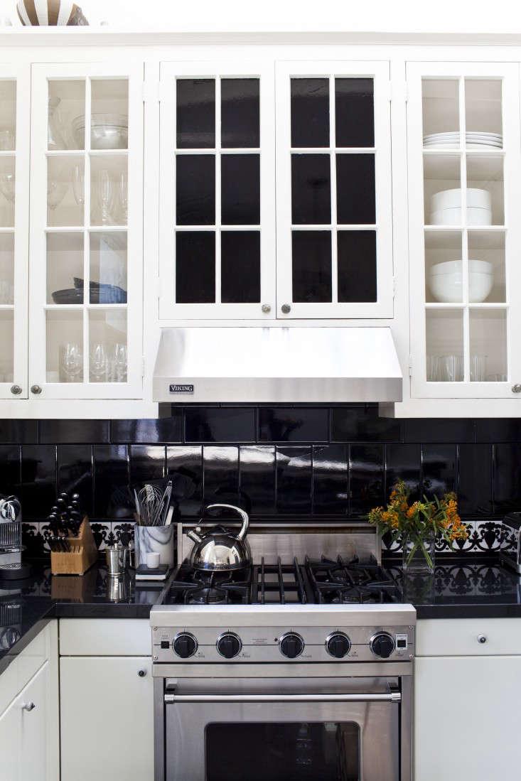 Michelle James Kitchen Black Tiles