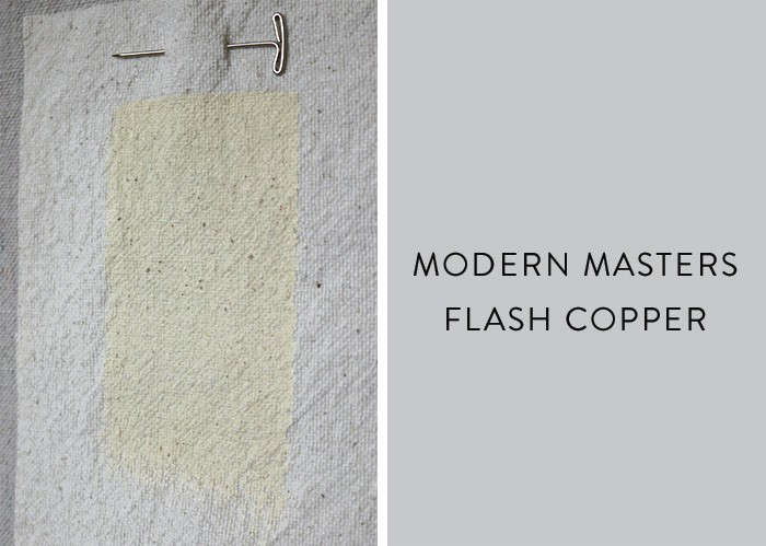 Modern masters metallic paint in Flash Copper Remodelista