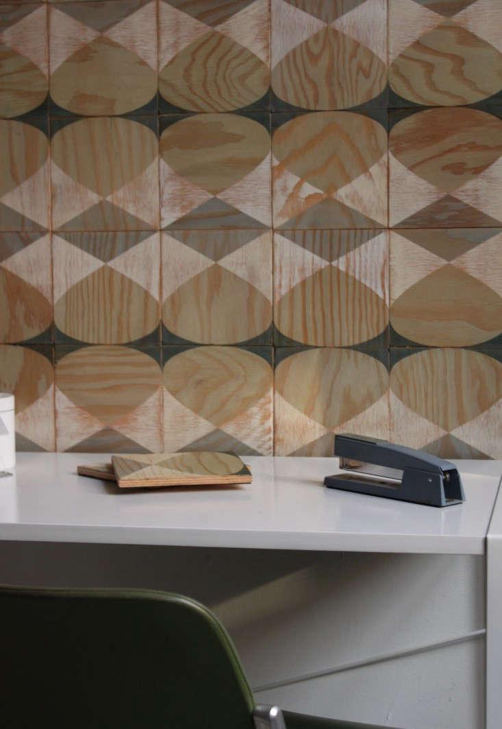 Moonish Co marine ply 2 wall tiles Remodelita