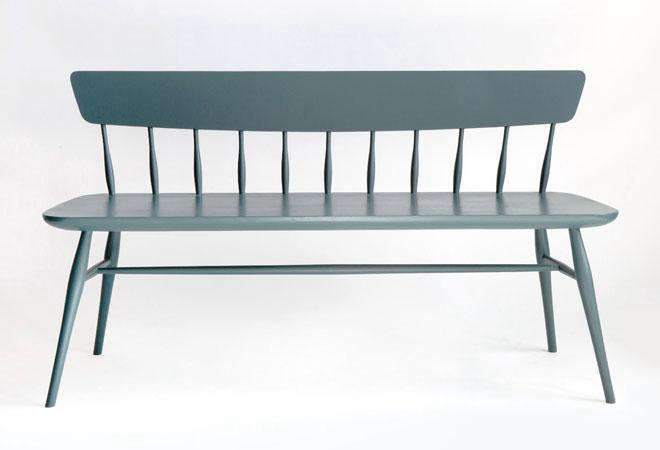 Moving Mountains Windsor Bench Blue