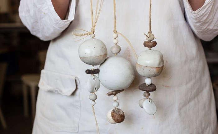 5 Favorites Bohemian Modern Ceramic Bells portrait 7_22