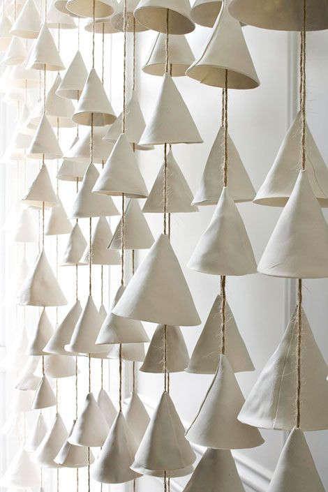 5 Favorites Bohemian Modern Ceramic Bells portrait 6