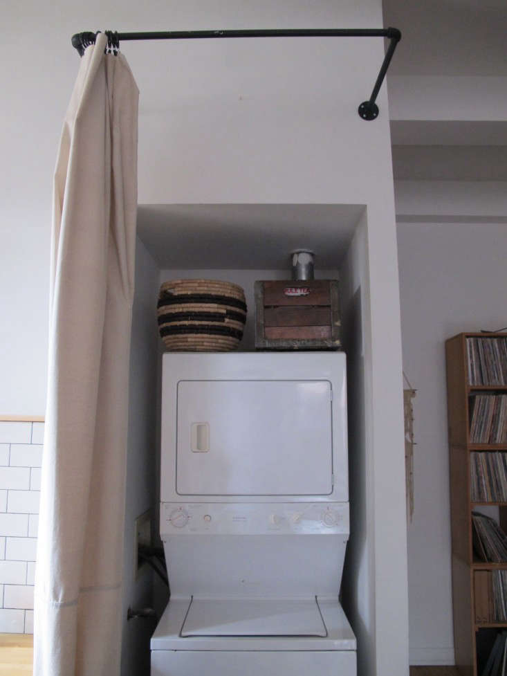 In a small apartment, a one-piece unit saves space. See DIY: The $65 Laundry Closet, Renter's Edition for an easy way  to conceal the appliances.
