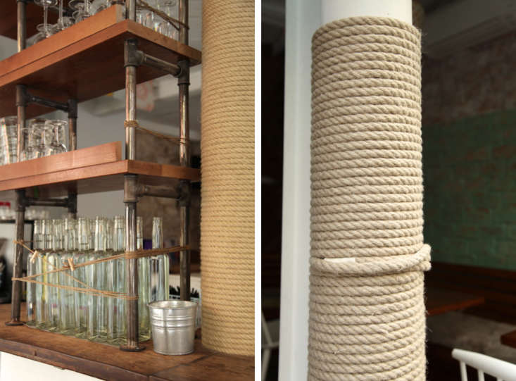 Nautical Rope Details at Le Mary Celeste