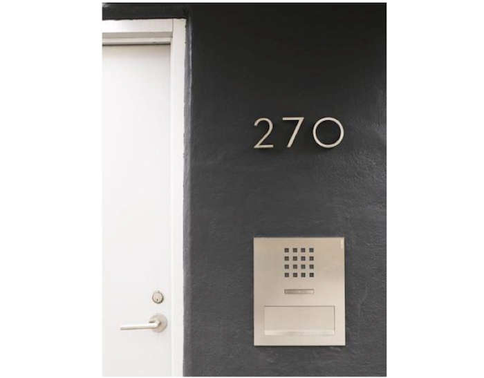 HighLow Modern House Numbers portrait 3