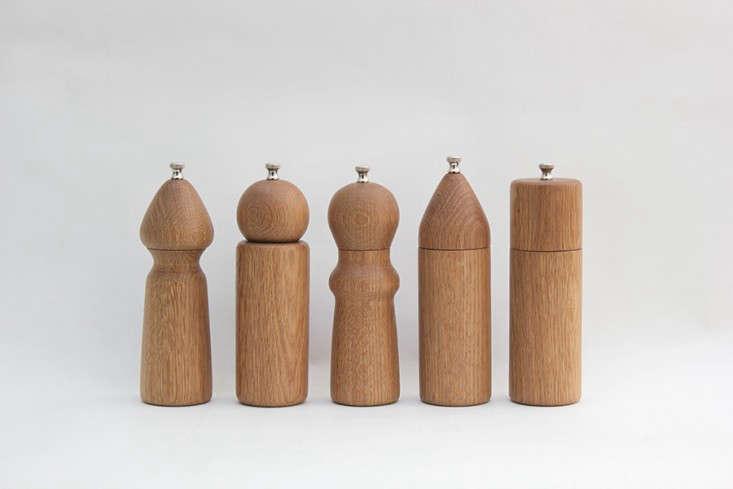 Nickey Kehoe Wood salt pepper grinders