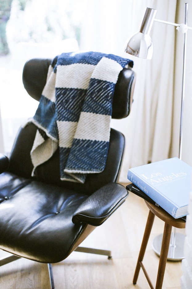 Noon Design Studio cashmere blanket Remodelista