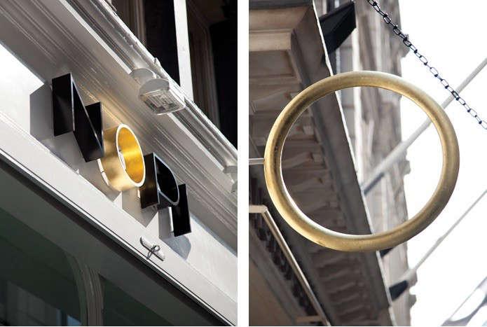 Nopi brass ring motif remodelista