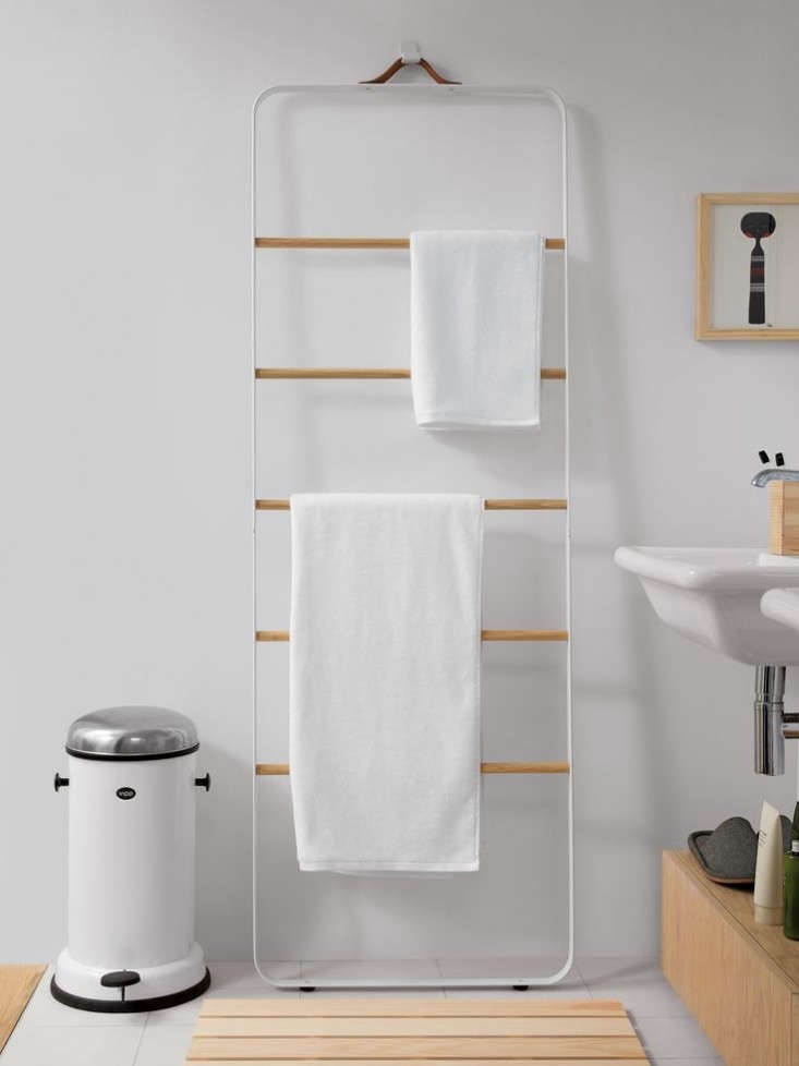 New Bath Hardware from Norm Architects The Towel Ladder and More portrait 5
