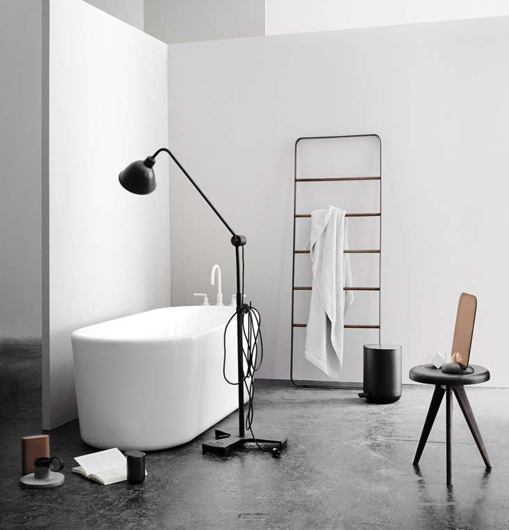 New Bath Hardware from Norm Architects The Towel Ladder and More portrait 3